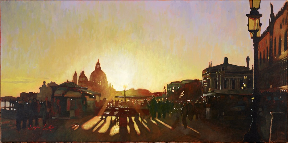 Venice LVIII by stephen collett -  sized 39x20 inches. Available from Whitewall Galleries